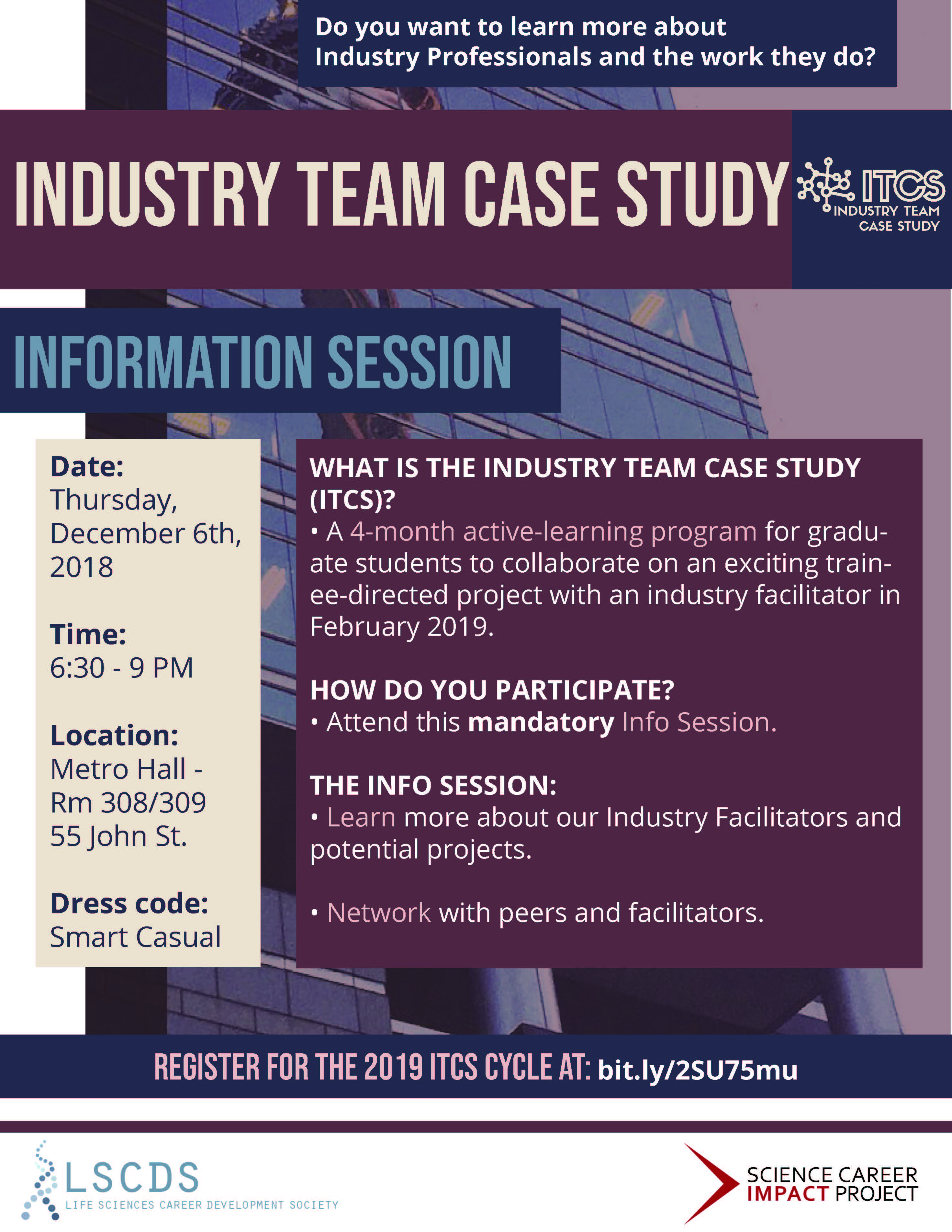 ITCS Info Session