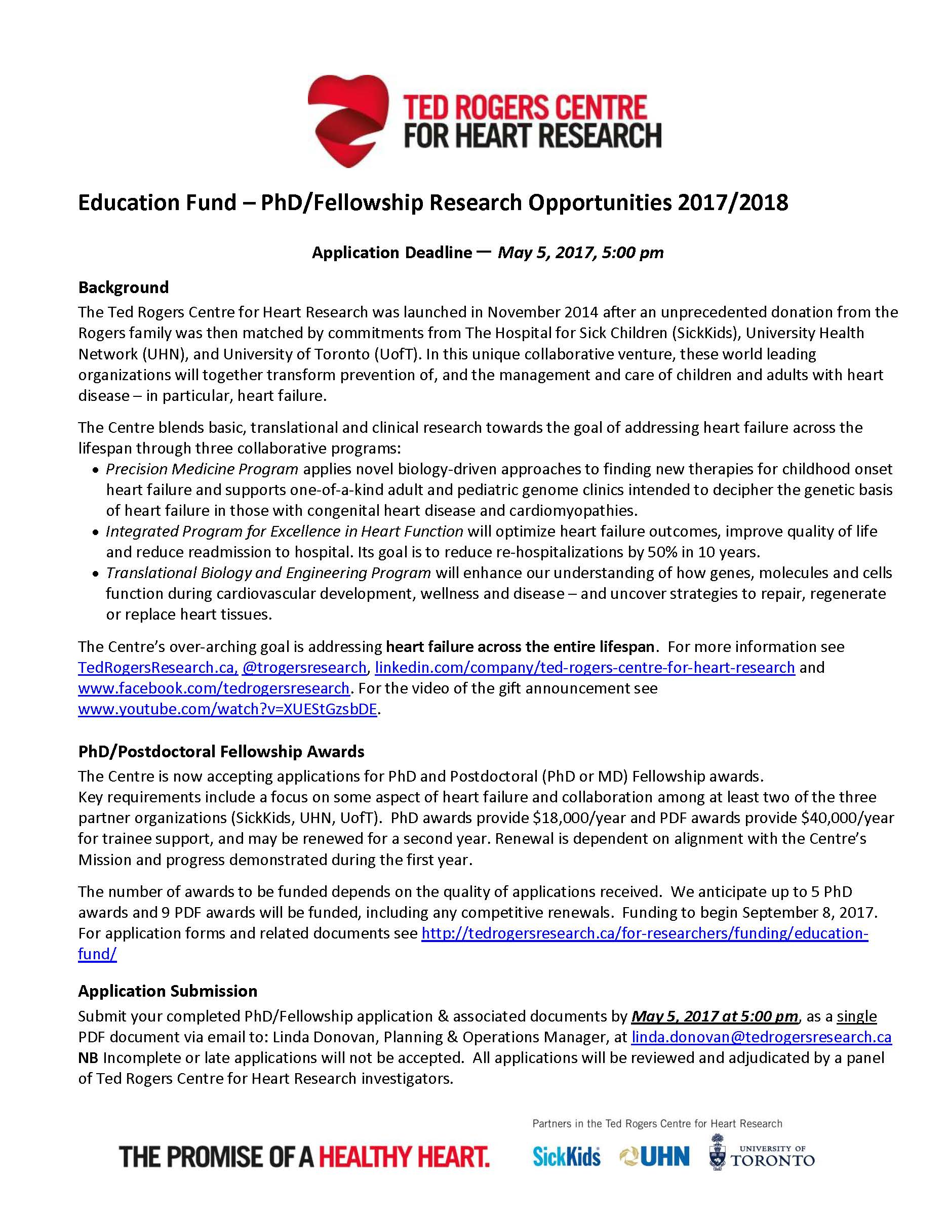 Ted Rogers Education Fund