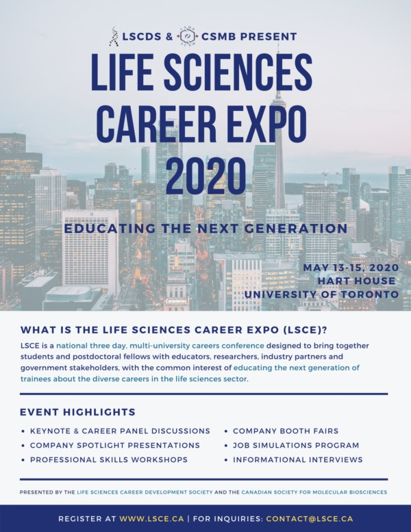 Life Sciences Career Expo